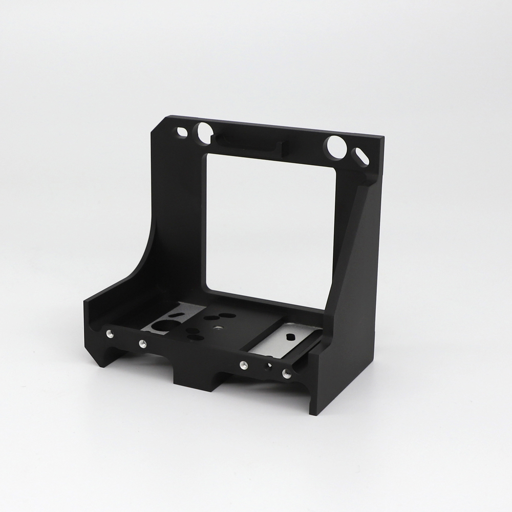 CNC Machind die casting parts bracket parts for camera-4