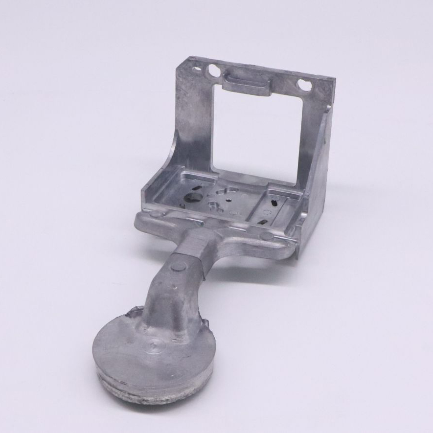 CNC Machind die casting parts bracket parts for camera-3