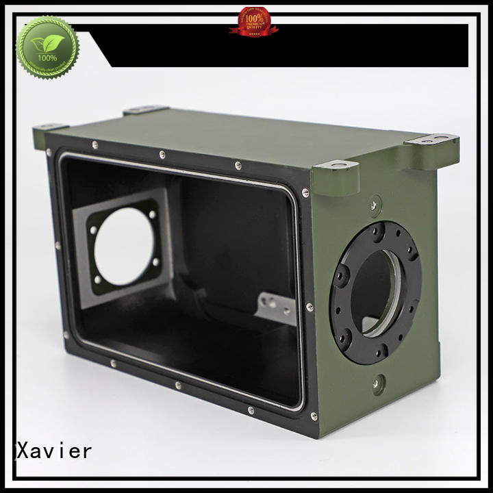 Xavier casting cnc machined camera housing parts excellent quality from top factory