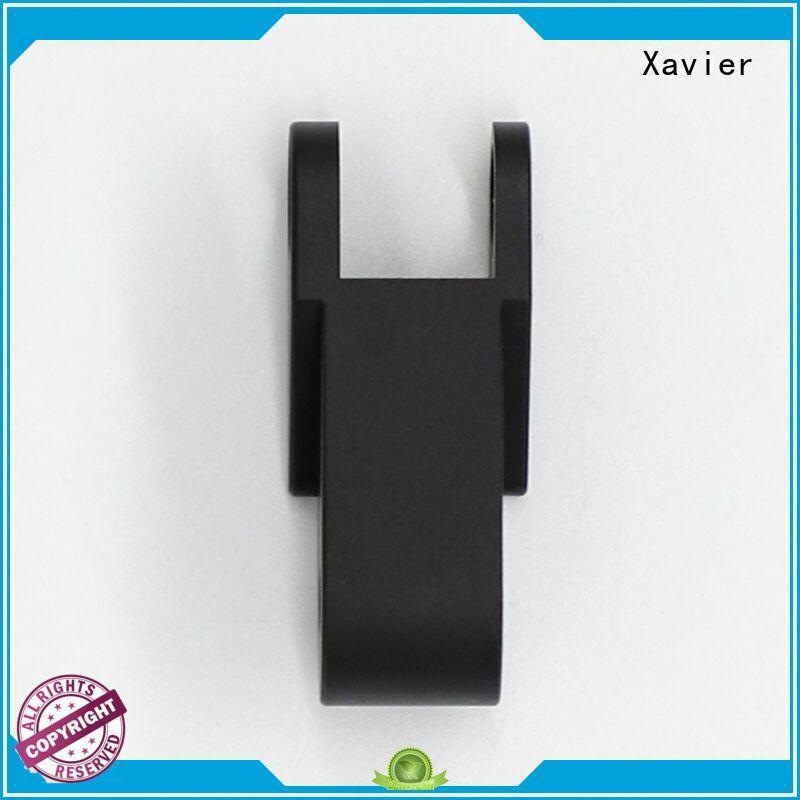 Xavier cost effective precision cnc machining black anodized