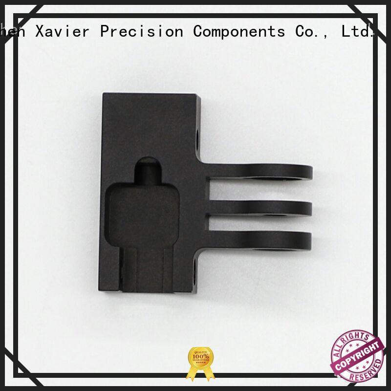 Xavier light-weight cnc machining parts angle swivel-joint