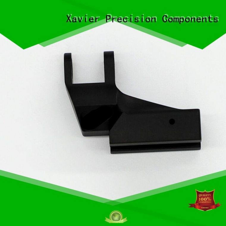Xavier cost effective cnc precision machining black anodized for wholesale