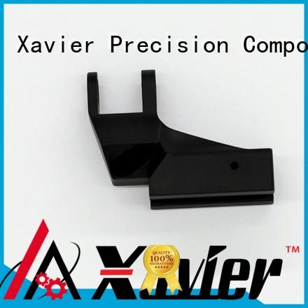 Xavier high quality custom cnc parts black anodized for wholesale