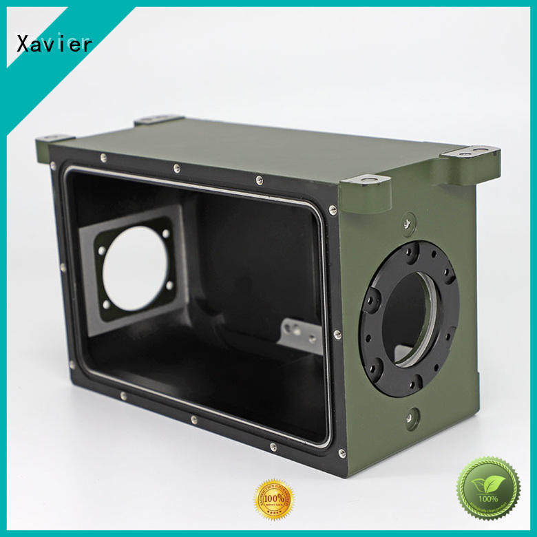 CNC machined aluminum parts CNC casting parts for optics camera housing