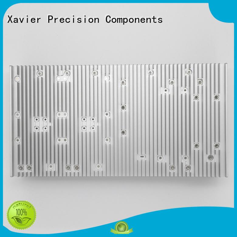 cross-sectional extruded aluminium heatsink bulk for wholesale Xavier