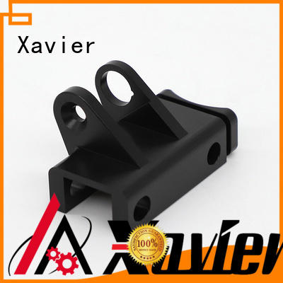 Xavier secondary processing precision cnc machining black anodized