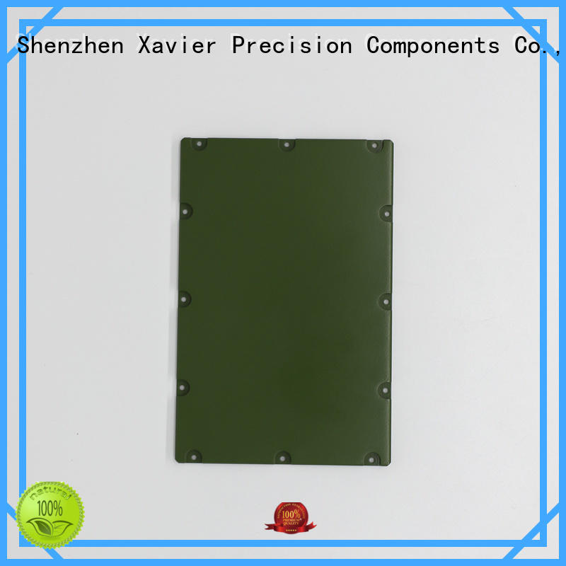 Xavier professional aluminum machining part excellent quality from top factory