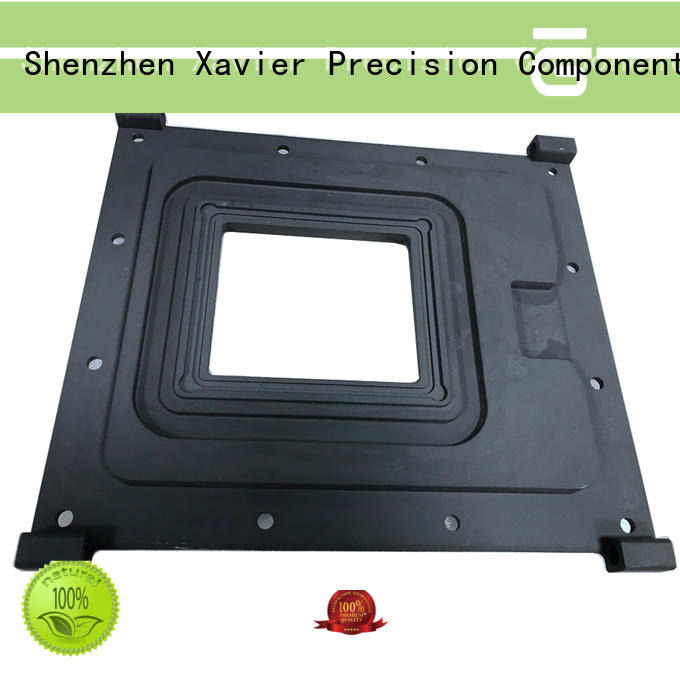 Aluminum CNC Machining parts for Agriculture measuring system front plate