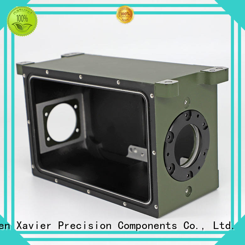 Xavier popular cnc camera housing parts excellent quality from top factory