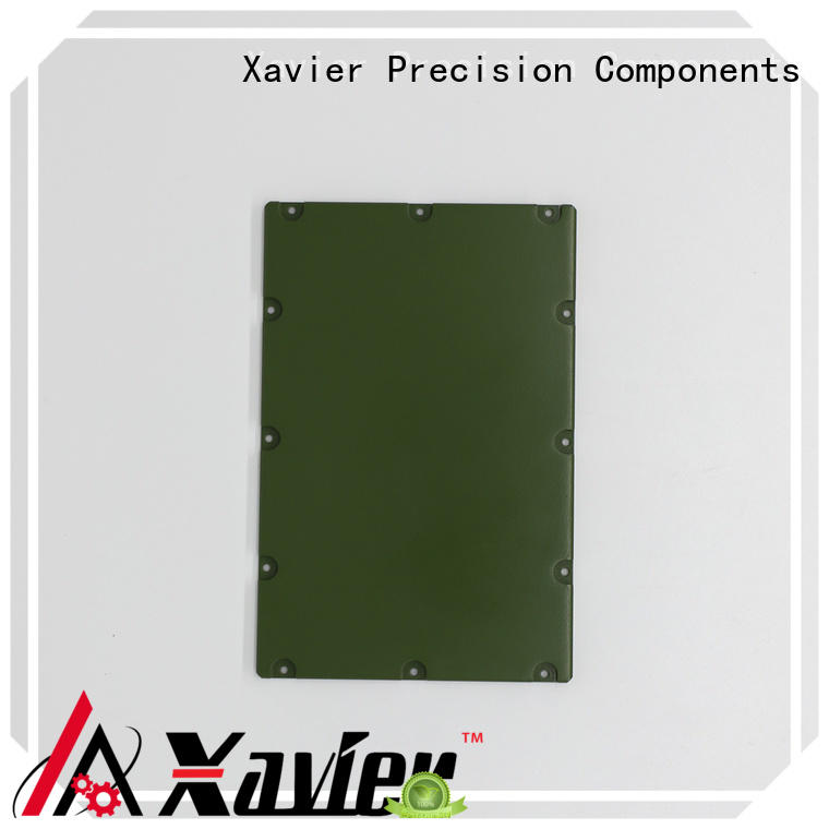 Xavier housing aluminum machining part excellent quality at discount