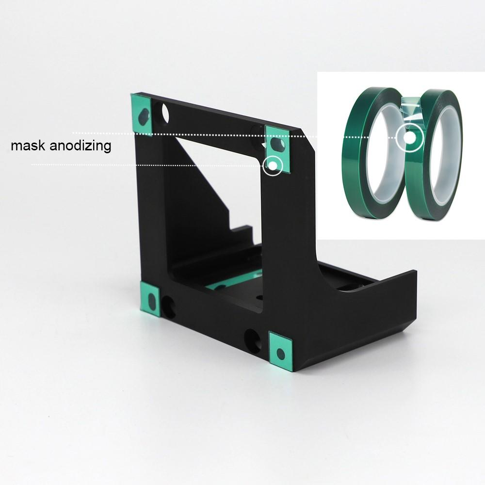 CNC Machind die casting parts bracket parts for camera-2