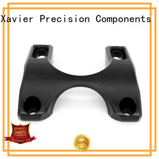 Xavier secondary processing machined parts black anodized for wholesale