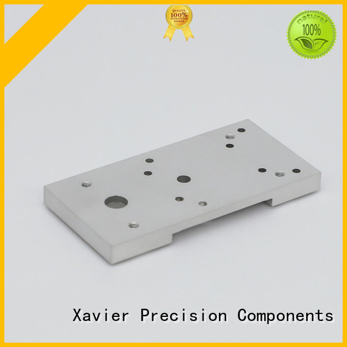 Xavier aluminum alloy cnc milling machine parts components supportive at discount