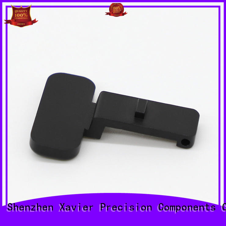 Xavier cost effective aluminum machining part black anodized at discount