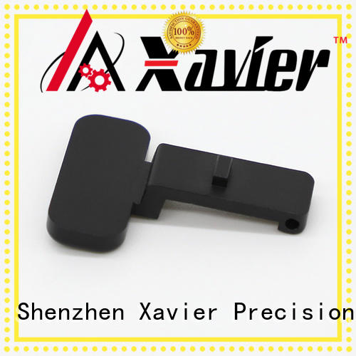 Xavier high-precision cnc machining parts black anodized for wholesale