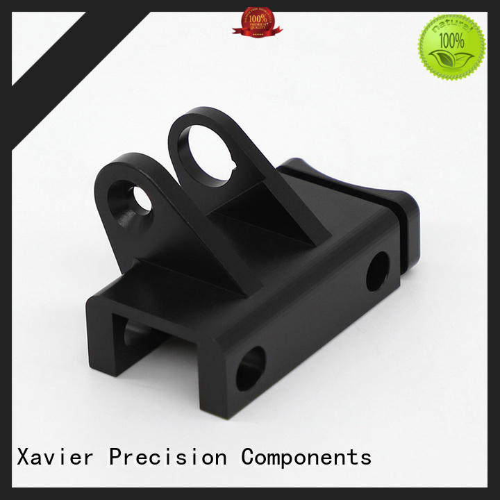 top-quality cnc aluminum parts black anodized Xavier