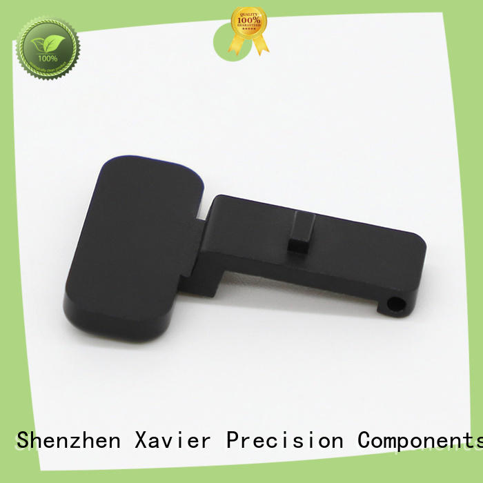 high quality custom cnc parts black anodized for wholesale