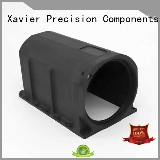 Xavier secondary processing custom cnc parts black anodized for night vision