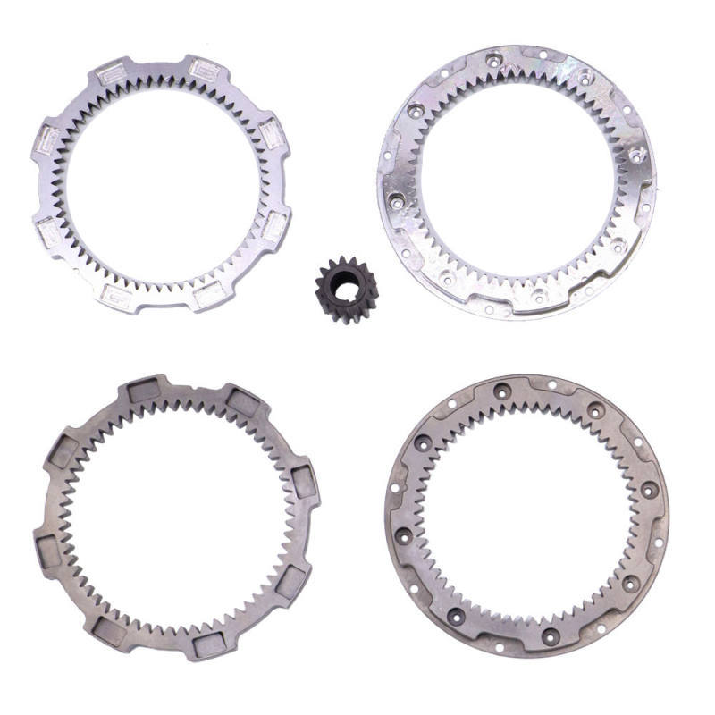 Nitriding Steel C45 gear broaching transfer ring gears-1