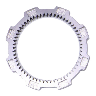 Nitriding Steel C45 gear broaching transfer ring gears-3