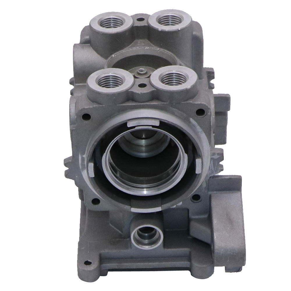 Aluminumn die casting upper valve body for hydraulic power unit valve plate