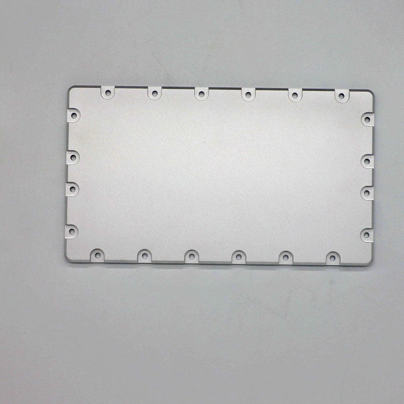 CNC machined parts side cover for assembly of optical parts