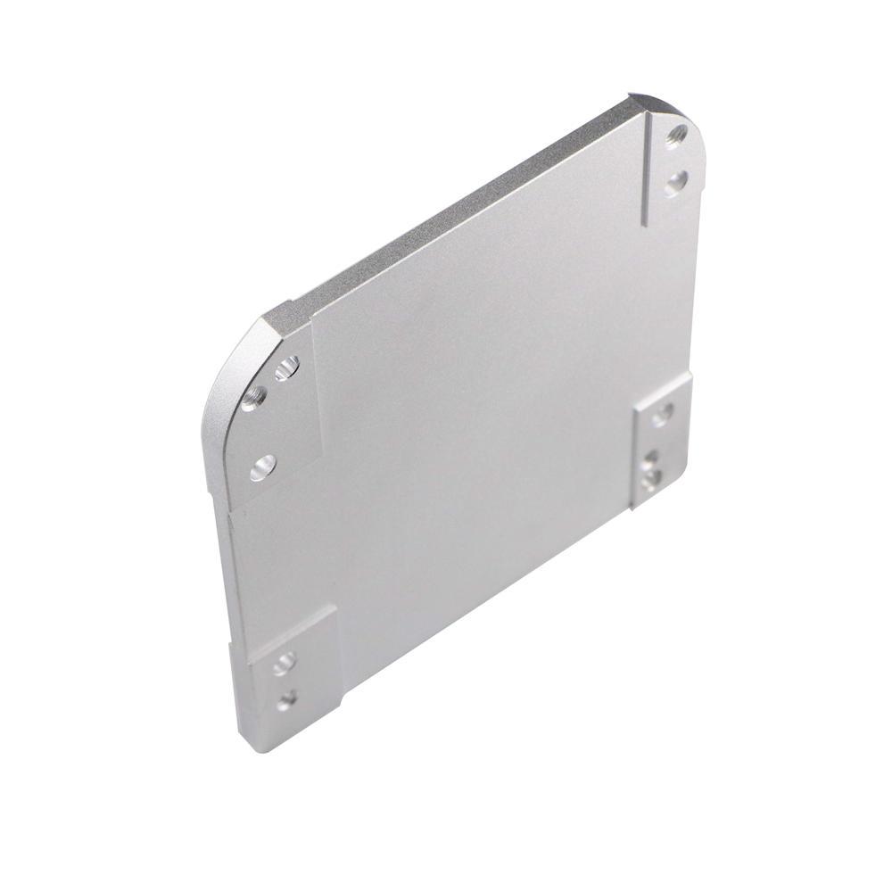 Aluminum end cap cnc machined plate parts