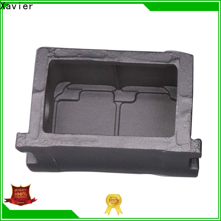 Xavier cnc machined sand casting products hot-sale