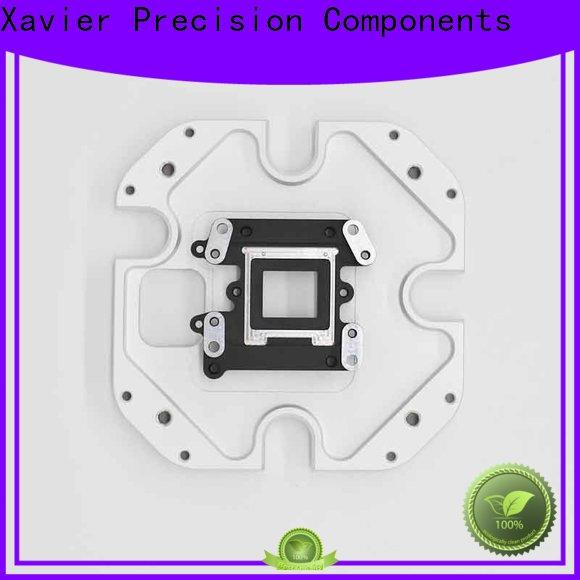 Xavier secondary processing custom cnc parts black anodized at discount
