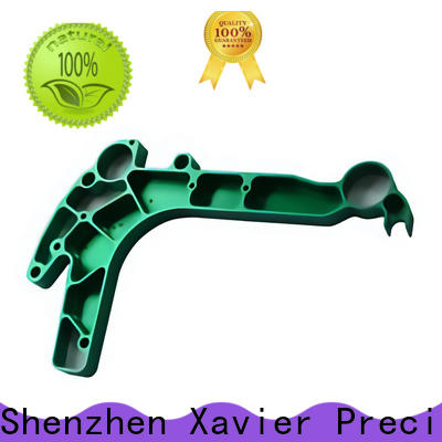 Xavier durable cnc machined spare parts aluminum alloy frame for wholesale