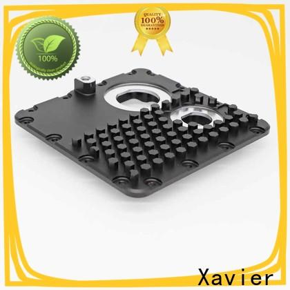 Xavier high quality aluminum machining part black anodized at discount