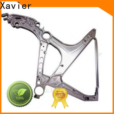 Xavier professional cnc machined spare parts aluminum alloy frame for wholesale