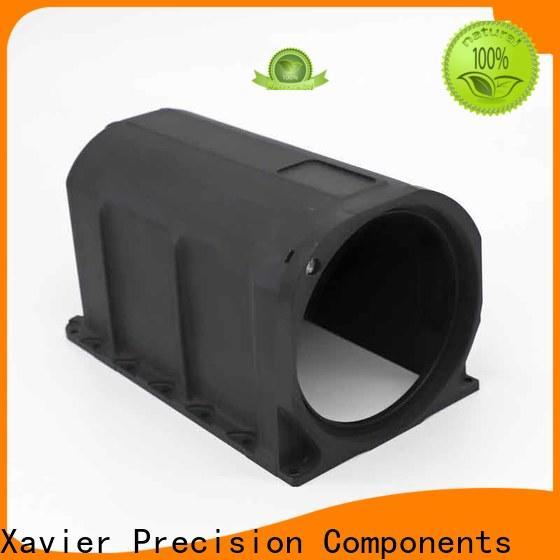 Xavier top-quality custom cnc parts black anodized