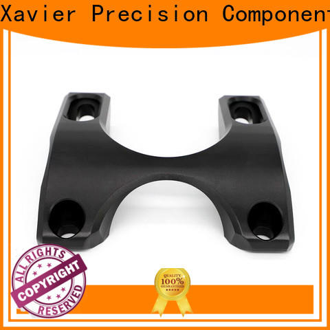 top-quality custom cnc parts high-precision black anodized at discount