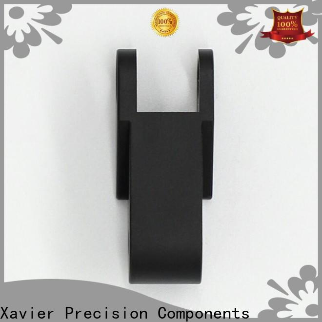 Xavier high quality custom machined parts black anodized at discount
