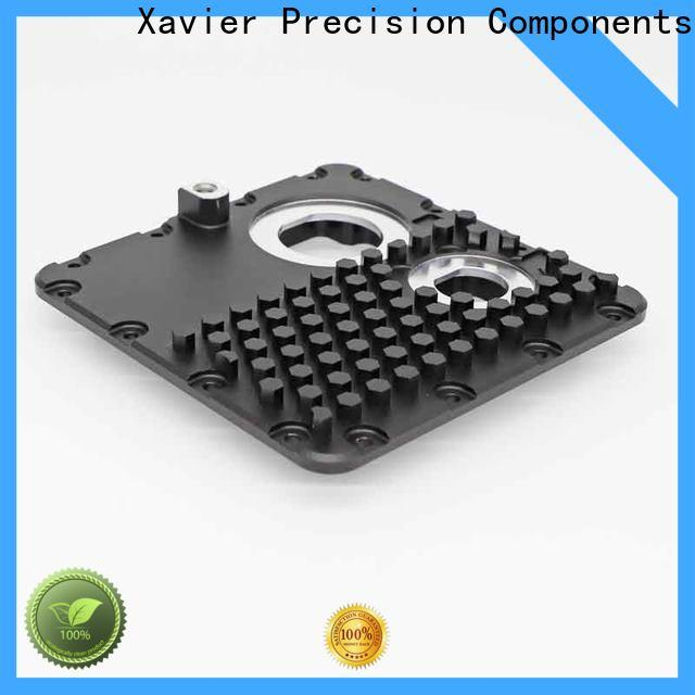 Xavier secondary processing precision cnc machining black anodized at discount