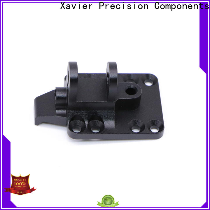 Xavier top-quality cnc precision machining black anodized
