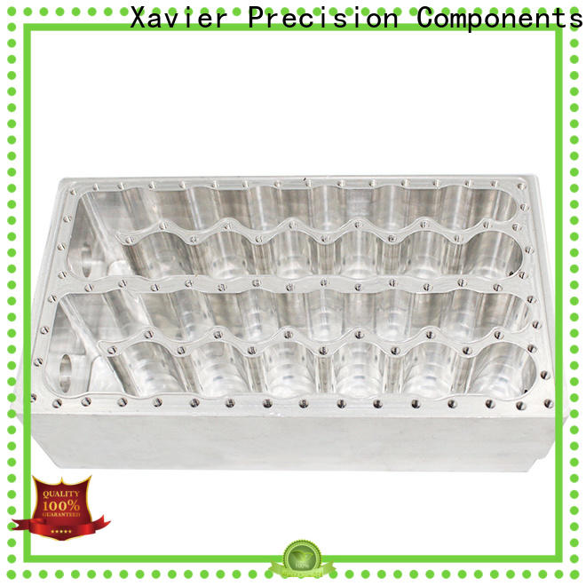 Xavier aluminium components cnc precision machining free delivery for wholesale