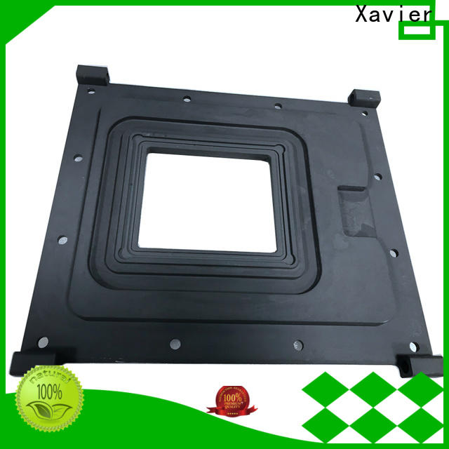 Xavier aluminum alloy cnc milling parts front plate free delivery