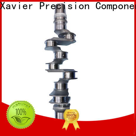 Xavier easy-installation crankshaft machining universal inspection standards