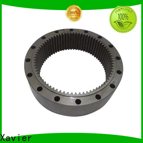 Xavier stainless steel cnc machining gears OBM from best factory