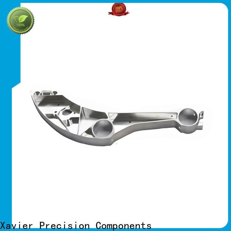 high-quality cnc machined spare parts milling aluminum alloy frame for wholesale