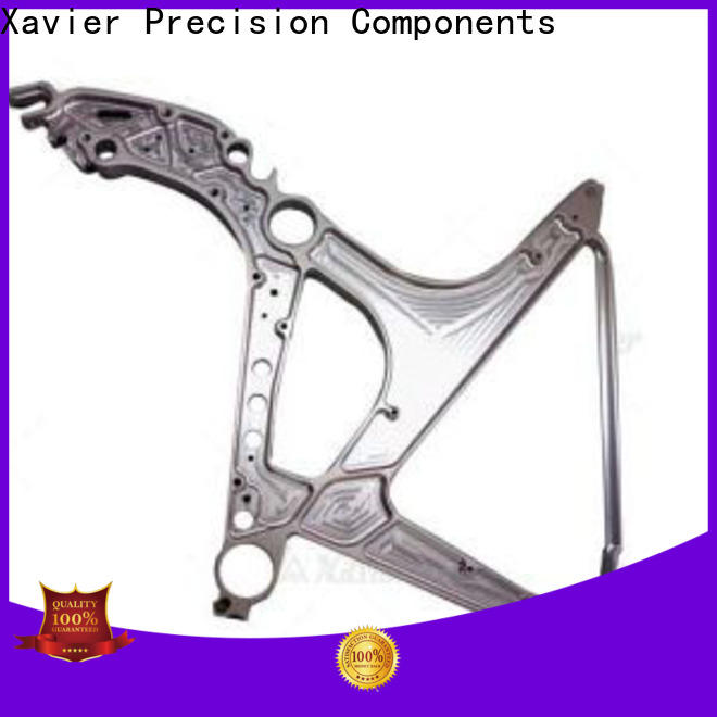 high-quality aerospace parts milling aluminum alloy frame at discount