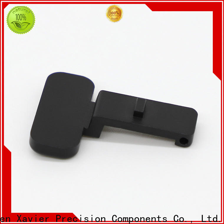 top-quality aluminum machining part high quality black anodized at discount