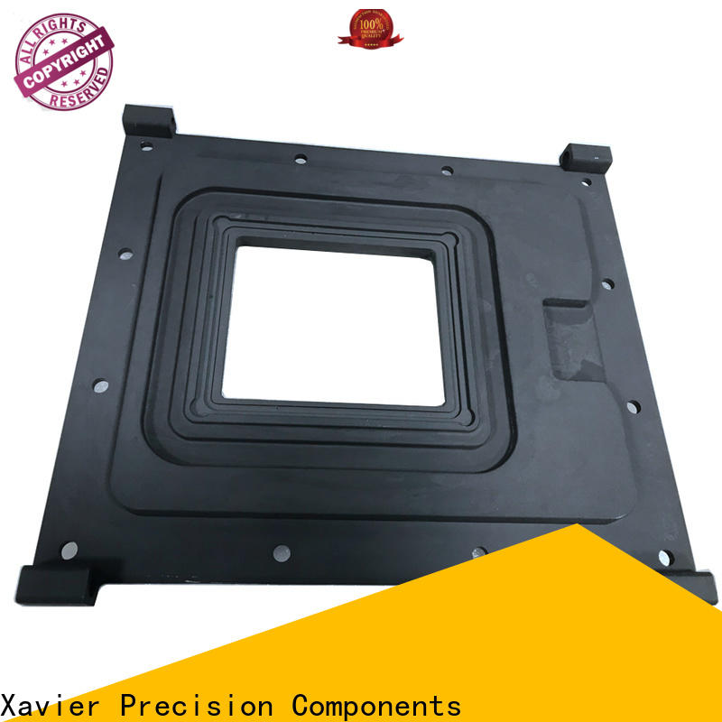 Xavier reasonable structure cnc milling parts front plate free delivery