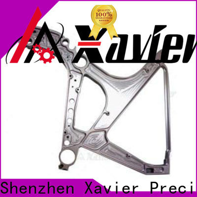 high-quality cnc machined spare parts custom aluminum alloy frame for wholesale