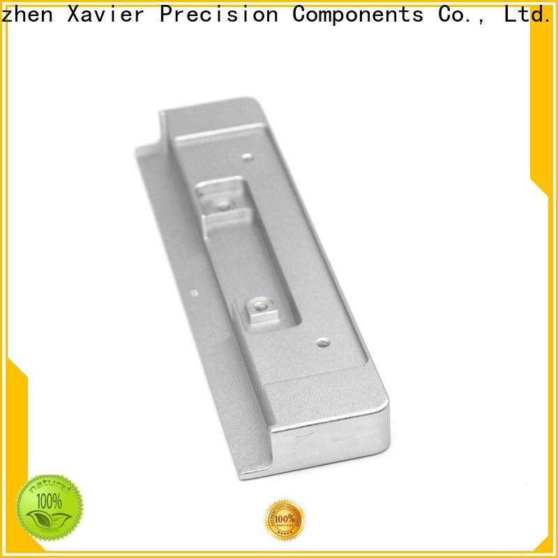 Xavier high-precision aluminum precision products black anodized for wholesale