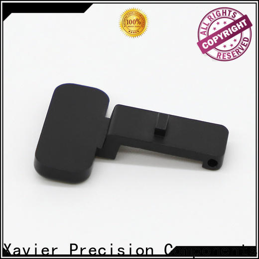 Xavier sub-assembly cnc machining services black anodized for wholesale