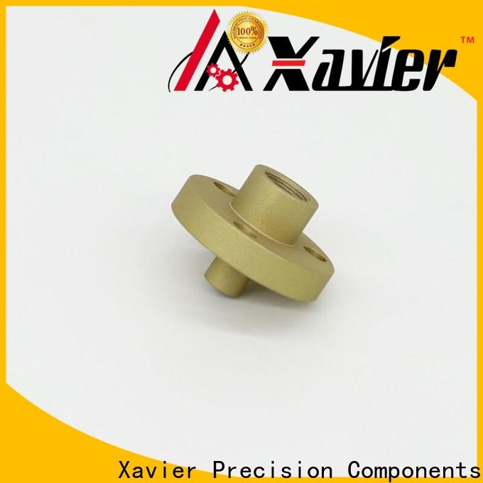 Xavier black anodized cnc turning services at sale