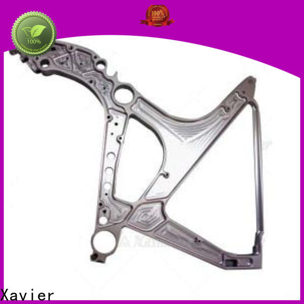 Xavier professional cnc machined spare parts aluminum alloy frame at discount